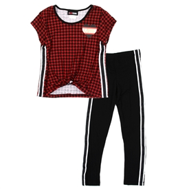 Wholesale #GIRLSQUAD Girls 4-6X Active Legging Set
