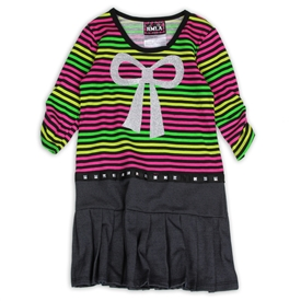 Wholesale RMLA Girls 4-6X Stripe Glitter Dress
