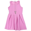 Wholesale RMLA Girls 4-6X Texture Knit Dress w/ Necklace