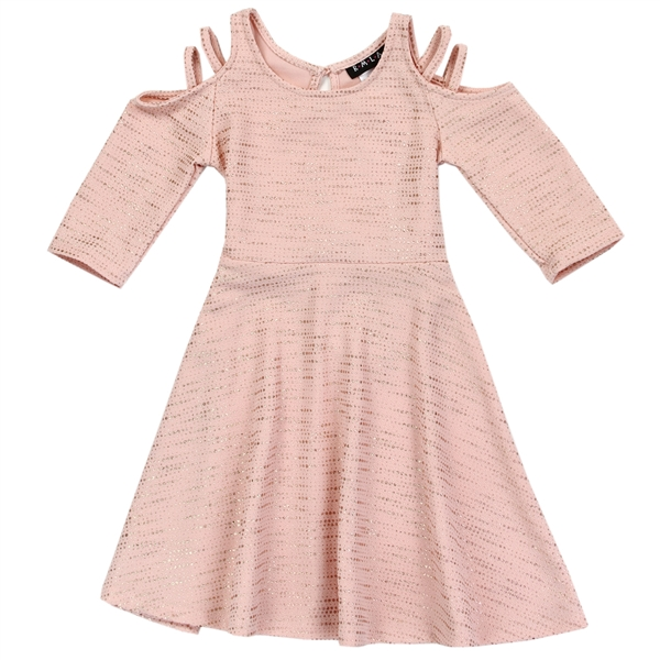 Wholesale RMLA Girls 4-6X Cold Shoulder Dress