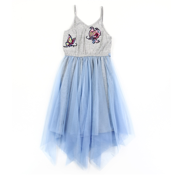 Wholesale RMLA Girls 4-6X Flip Applique Mesh Dress