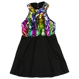 Wholesale RMLA Girls 4-6X Flip Sequin Dress