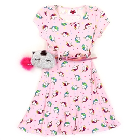 Wholesale RMLA Girls 4-6X Yummy Dress w Belt Purse