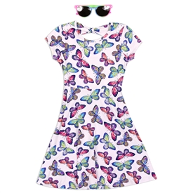 Wholesale RMLA Girls 4-6X Yummy Dress w Sunglasses