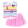 Wholesale MINNIE MOUSE Girls Toddler 2PC Skirt Set
