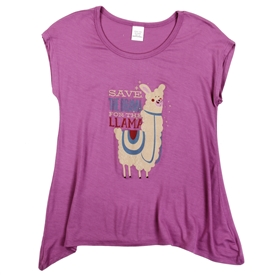 Wholesale Girls 7-16 Graphic Top - Less Scrolling