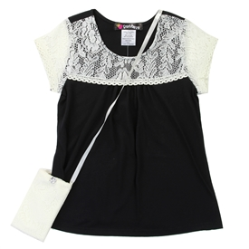 Wholesale RMLA Girls 7-14 Top W/ Purse