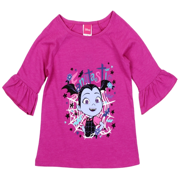 Wholesale VAMPIRINA Girls 4-6X Fashion T-Shirt