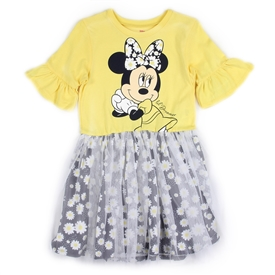 Wholesale MINNIE MOUSE Girls 4-6X Tulle Dress