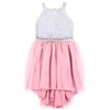 Wholesale RMLA Girls 7-14 Rhinestone Mesh Dress