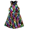 Wholesale RMLA Girls 7-14 Flip Sequin Dress