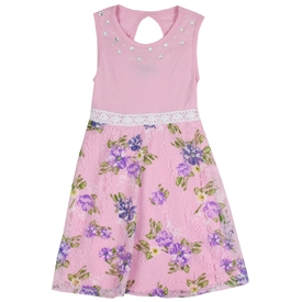 Wholesale RMLA Girls 7-12 Heatseal Lace Dress