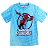 Wholesale SPIDER-MAN Boys 4-7 Tie Dye T-Shirt