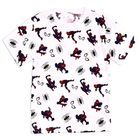 Wholesale SPIDER-MAN Boys 4-7 AOP T-Shirt