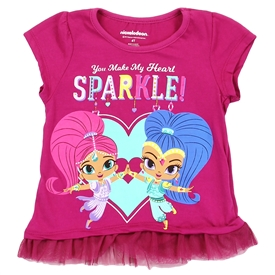 Wholesale SHIMMER & SHINE  Girls 4-6X T-Shirt