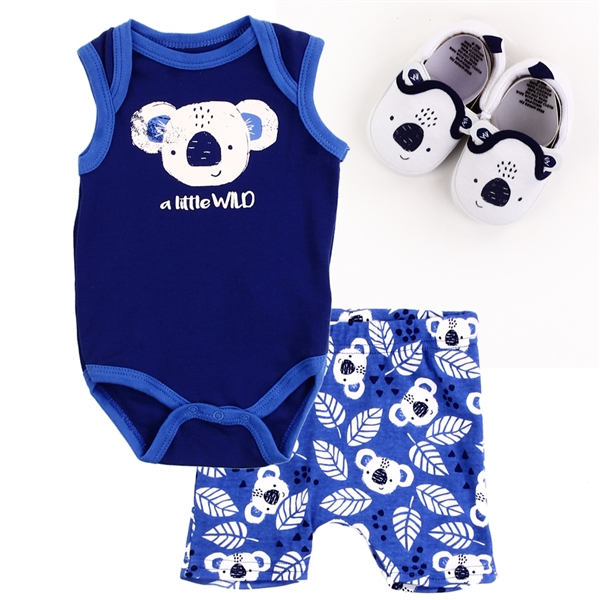 Wholesale BLOOMIN BABY Boys Newborn 3PC Set