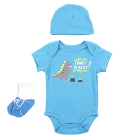 Wholesale EMPORIO BABY Boys Newborn 3PC Layette Set