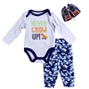 Wholesale EMPORIO BABY Boys Newborn 3PC Shoe Set