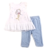 Wholesale EMPORIO BABY Girls Infant 2-Piece Capri Set