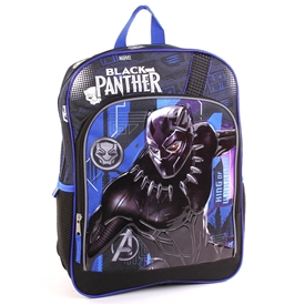 "Wholesale BLACK PANTHER 16"" Specialty Backpack"