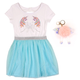 Wholesale P.S. AEROPOSTALE Girls Toddler Tutu Dress W/ Keychain