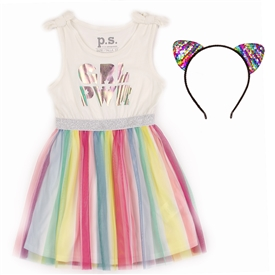 Wholesale P.S. AEROPOSTALE Girls Toddler Tutu Dress W/ Headband