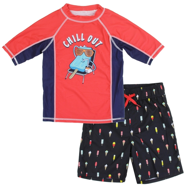 Wholesale P.S. AEROPOSTALE Boys 4-7 2PC Swimsuit Set