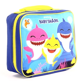 Wholesale BABY SHARK Insulated Lunch Bag