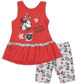 Wholesale MINNIE MOUSE Girls 4-6X 2PC Bike Short Set