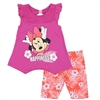 Wholesale MINNIE MOUSE Girls Toddler 2PC Bike Short Set