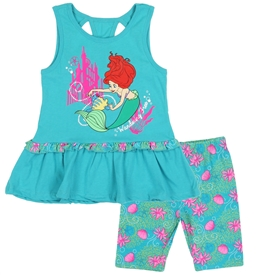 Wholesale PRINCESS Girls 4-6X 2PC Bike Short Set