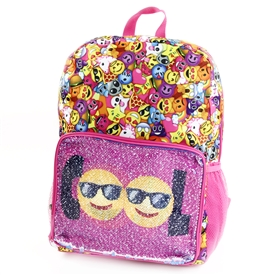 "Wholesale CONFETTI 16"" Flip Sequin Fashion Backpack"