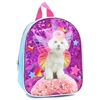 Wholesale CONFETTI Shiny Print Dog Mini Backpack