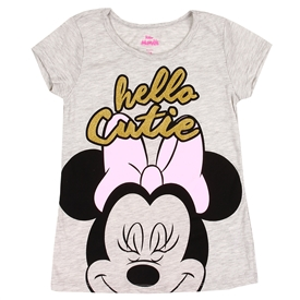 Wholesale MINNIE MOUSE Girls 7-12 T-Shirt
