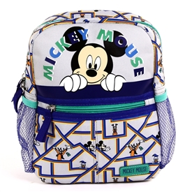 "Wholesale MICKEY MOUSE Mini 10"" Backpack W/ Harness"