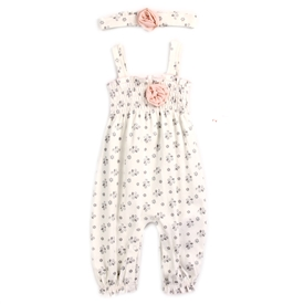 Wholesale TAHARI BABY Girls 2PC Romper Set