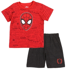 Wholesale SPIDER-MAN Boys Toddler 2PC Short Set