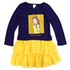 Wholesale PRINCESS BELLE Girls 6-12 L/S Tutu Dress