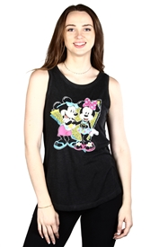Wholesale MICKEY/MINNIE Juniors Tank Top