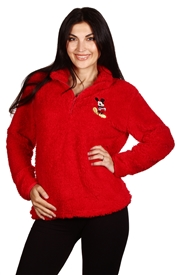 Wholesale MICKEY MOUSE Juniors Sherpa Sweatshirt