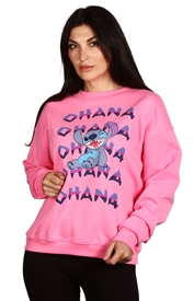 Wholesale STITCH Juniors Crew Neck Sweatshirt