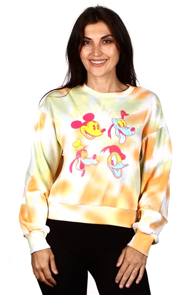 Wholesale MICKEY MOUSE Juniors Fashion Sweatshirt