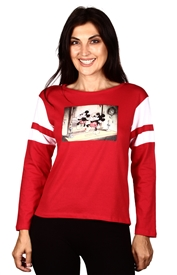 Wholesale MICKEY MOUSE Juniors L/S Top