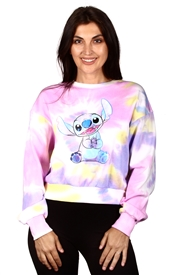 Wholesale STITCH Juniors Tie Dye Sweatshirt