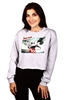 Wholesale MICKEY MOUSE Juniors Crop Sweatshirt