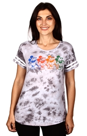 Wholesale MICKEY MOUSE Junior Tie Dye Fashion Top/T-shirt
