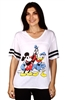 Wholesale MICKEY MOUSE Junior Plus Fashion Top/T-shirt