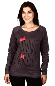 Wholesale MINNIE MOUSE Juniors Reversible Sweatshirt