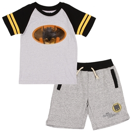 Wholesale BATMAN Boys Toddler 2PC Short Set