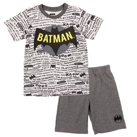 Wholesale BATMAN Boys 4-7 2PC Short Set